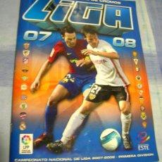 Coleccionismo deportivo: EDICIONES ESTE 2007-2008 07 08 ÁLBUM CASI COMPLETO. Lote 34606718