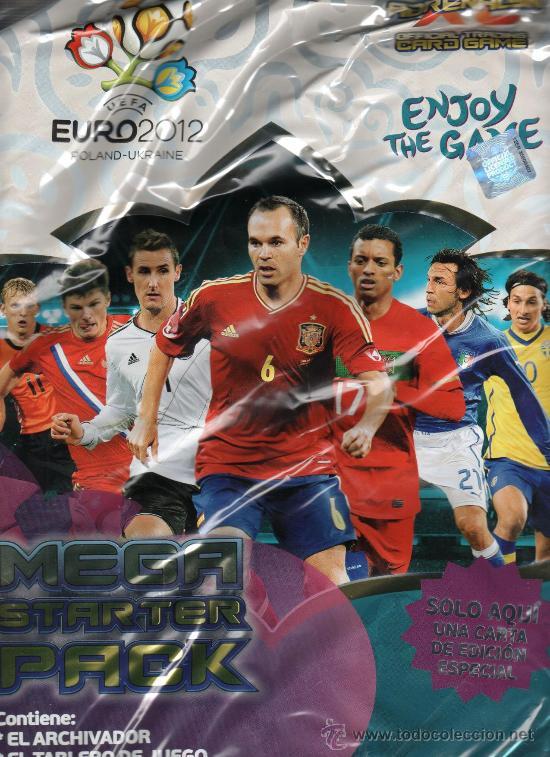 ALBUM UEFA EURO 2012 ADRENALYN TRADING CARDS- PANINI (PRECINTADO) (Coleccionismo Deportivo - Álbumes y Cromos de Deportes - Álbumes de Fútbol Incompletos)