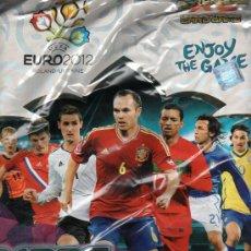 Coleccionismo deportivo: ALBUM UEFA EURO 2012 ADRENALYN TRADING CARDS- PANINI (PRECINTADO). Lote 34981436