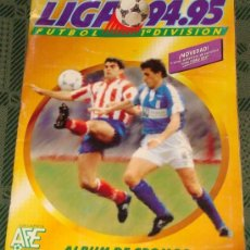 Coleccionismo deportivo: ÁLBUM DE CROMOS DE FÚTBOL. LIGA 94 95 1994 1995. INCLUYE 305 CROMOS. EDICIONES ESTE. . Lote 45156947