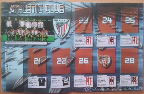 Coleccionismo deportivo: ALBUM CROMOS VACIO PLANCHA PANINI SUPERLIGA 2001/2002 NUEVO LIGA 01-02 - - Foto 3 - 35228796