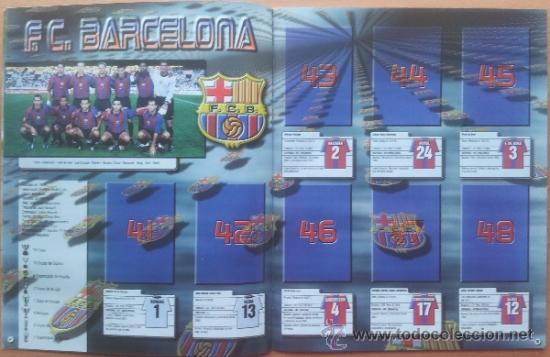 Coleccionismo deportivo: ALBUM CROMOS VACIO PLANCHA PANINI SUPERLIGA 2001/2002 NUEVO LIGA 01-02 - - Foto 4 - 35228796