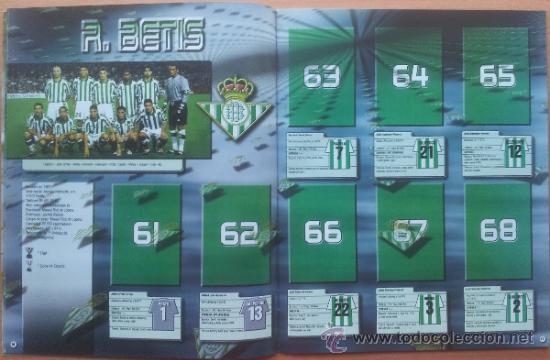 Coleccionismo deportivo: ALBUM CROMOS VACIO PLANCHA PANINI SUPERLIGA 2001/2002 NUEVO LIGA 01-02 - - Foto 5 - 35228796