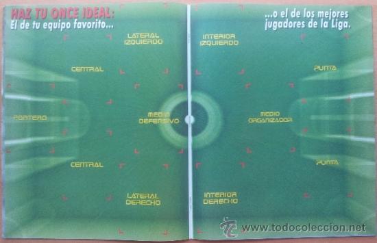 Coleccionismo deportivo: ALBUM CROMOS VACIO PLANCHA PANINI SUPERLIGA 2001/2002 NUEVO LIGA 01-02 - - Foto 6 - 35228796