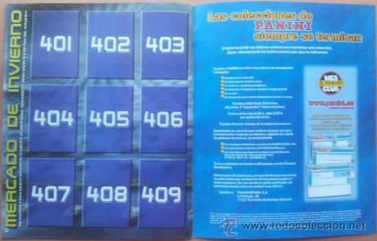 Coleccionismo deportivo: ALBUM CROMOS VACIO PLANCHA PANINI SUPERLIGA 2001/2002 NUEVO LIGA 01-02 - - Foto 7 - 35228796