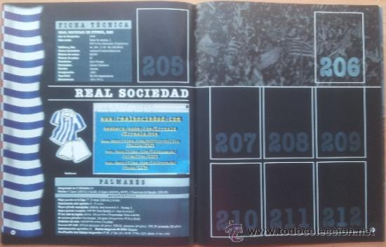 Coleccionismo deportivo: ALBUM CROMOS VACIO PLANCHA PANINI LIGA 2000/2001 NUEVO 00-01 - FUTBOL - Foto 4 - 71059233