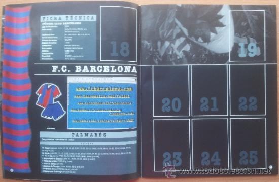 Coleccionismo deportivo: ALBUM CROMOS VACIO PLANCHA PANINI LIGA 2000/2001 NUEVO 00-01 - FUTBOL - Foto 5 - 71059233