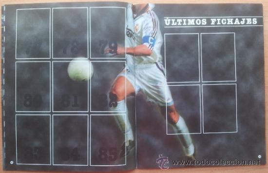 Coleccionismo deportivo: ALBUM CROMOS VACIO PLANCHA PANINI LIGA 2000/2001 NUEVO 00-01 - FUTBOL - Foto 6 - 71059233