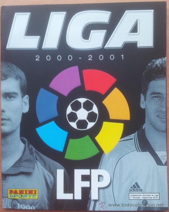 ALBUM CROMOS VACIO PLANCHA PANINI LIGA 2000/2001 NUEVO 00-01 - FUTBOL (Coleccionismo Deportivo - Álbumes y Cromos de Deportes - Álbumes de Fútbol Incompletos)