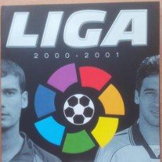 Coleccionismo deportivo: ALBUM CROMOS VACIO PLANCHA PANINI LIGA 2000/2001 NUEVO 00-01 - FUTBOL. Lote 71059233