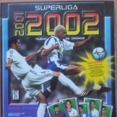 Coleccionismo deportivo: ALBUM CROMOS VACIO PLANCHA PANINI SUPERLIGA 2001/2002 NUEVO LIGA 01-02 - . Lote 35228796
