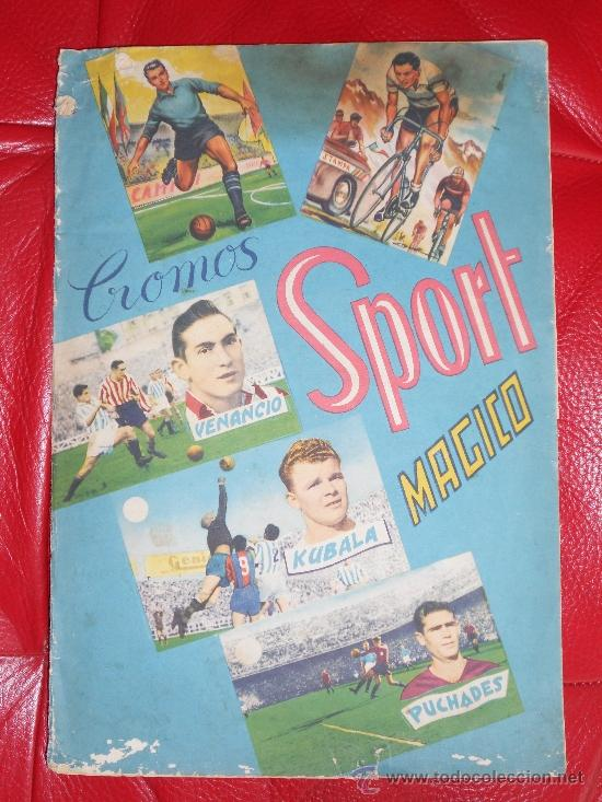 49 CROMOS, SPORT MAGICO (Coleccionismo Deportivo - Álbumes y Cromos de Deportes - Álbumes de Fútbol Incompletos)