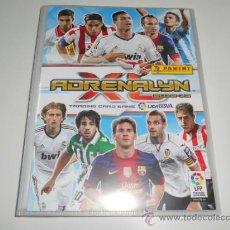 Coleccionismo deportivo: ALBUM FICHERO ARCHIVADOR PLASTICO VACIO SIN CROMOS ADRENALYN XL LIGA FUTBOL PANINI 2012 2013 12 13. Lote 78267371