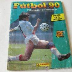 Coleccionismo deportivo: ALBUM DE CROMOS PANINI - FUTBOL 90 - 1ª Y 2ª DIVISION A. Lote 35410338