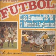 Coleccionismo deportivo: ALBUM MAGA DE LA LIGA ESPAÑOLA 1978-79 Y MUNDIAL DE ARGENTINA. CONTIENE 127 CROMOS. Lote 37566628