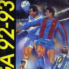 Coleccionismo deportivo: ALBUM FUTBOL, LIGA 1992 1993 , 92 93 , EDICIONES ESTE, CON 274 CROMOS , ORIGINAL , K. Lote 35479860