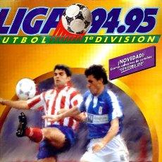 Coleccionismo deportivo: ALBUM FUTBOL, LIGA 1994 1995 , 94 95 , EDICIONES ESTE, CON 334 CROMOS , ORIGINAL , K. Lote 35480010