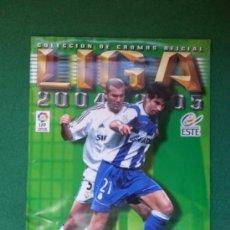 Coleccionismo deportivo: ALBUM ESTE 2004/2005 04/05. Lote 35539742