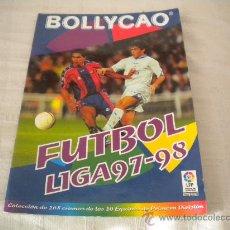 Coleccionismo deportivo: ALBUM FUTBOL LIGA 97/98 BOLLYCAO VACIO CON REGALO. Lote 35547002