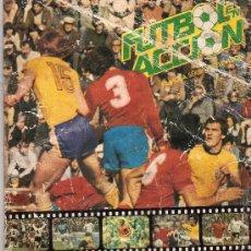 Coleccionismo deportivo: ALBUM DANONE LIGA 82, CON 64 CROMOS, MAL ESTADO ALBUM. Lote 35566863