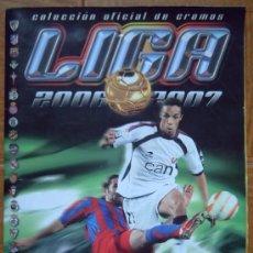Coleccionismo deportivo: ALBUM DE FUTBOL 2006/07 ESTE - CON 423 CROMOS + 7 CRACKS NOCILLA (33 FICHAJES 20 COLOCAS Y 24 BAJAS). Lote 35671243