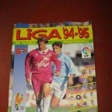 Coleccionismo deportivo: ANTIGUO ALBUM LIGA 94 95 DE FUTBOL PROFESIONAL PANINI. Lote 35880814