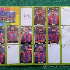 Coleccionismo deportivo: ALBUM DE CHICLE LA LIGA DE LAS ESTRELLAS 1996/1997 96/97 F.C.BARCELONA. Lote 35992585