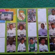 Coleccionismo deportivo: ALBUM DE CHICLE LA LIGA DE LAS ESTRELLAS 1996/1997 96/97 R.MADRID. Lote 35992807