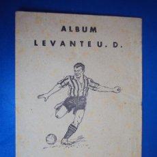 Coleccionismo deportivo: (AL-126)ALBUM CROMOS FUTBOL LEVANTE U.D. DEPORTES E INSTRUCCIÓN. VALENCIANA 1941. Lote 36012747