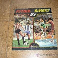 Coleccionismo deportivo: ALBUM PANINO FUTBOL BASKET CON 109 CROMOS. Lote 36075221