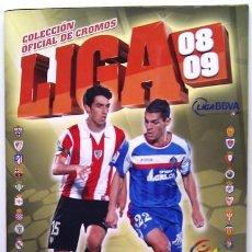 Coleccionismo deportivo: CAMPEONATO NACIONAL DE LIGA 2008/2009 - LIGA BBVA. Lote 36094812