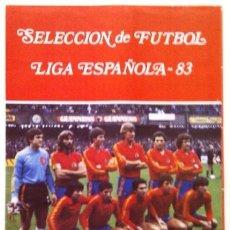 Coleccionismo deportivo: ÁLBUM SELECCIÓN DE FÚTBOL LIGA ESPAÑOLA 83. Lote 36241254