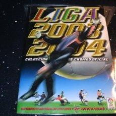 Coleccionismo deportivo: ALBUM LIGA ESTE 2003-04 INCOMPLETO. Lote 36405012