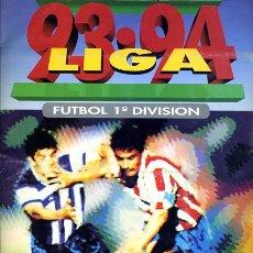 Coleccionismo deportivo: ALBUM FUTBOL, LIGA 1993 1994 ,93 94 ESTE ,CARTULINA ,INCOMPLETO , VER FOTOS. Lote 36426332