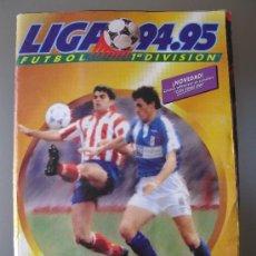 Coleccionismo deportivo: ALBUM LIGA 94-95 EDICIONES ESTE 1994-1995 CON 456 CROMOS ALGUNOS MUY DIFICILES. Lote 36737082