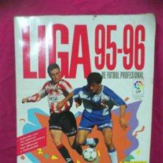 Coleccionismo deportivo: ALBUM FUTBOL LIGA 95-96 PANINI, . Lote 36488997