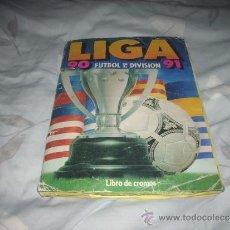 Coleccionismo deportivo: ALBUM DE LA LIGA 1990-91 DE ESTE. Lote 36617998