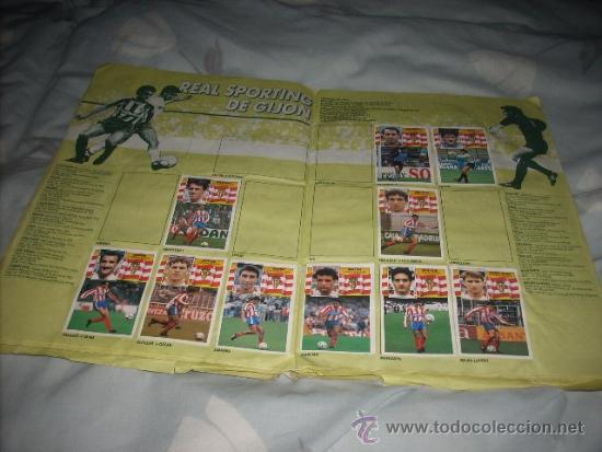 Coleccionismo deportivo: ALBUM DE LA LIGA 1990-91 DE ESTE - Foto 2 - 36617998