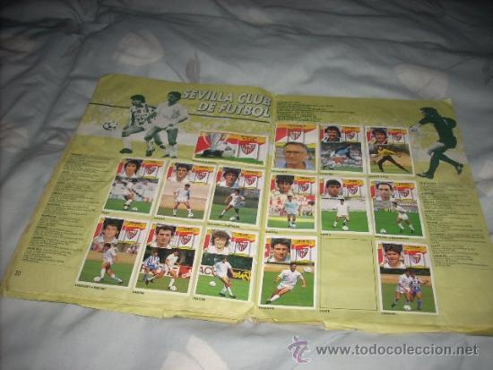 Coleccionismo deportivo: ALBUM DE LA LIGA 1990-91 DE ESTE - Foto 3 - 36617998