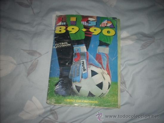 ALBUM DE LA LIGA 1989-90 DE ESTE CON CROMOS BUENOS (Coleccionismo Deportivo - Álbumes y Cromos de Deportes - Álbumes de Fútbol Incompletos)
