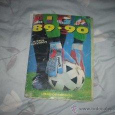 Coleccionismo deportivo: ALBUM DE LA LIGA 1989-90 DE ESTE CON CROMOS BUENOS. Lote 36618228