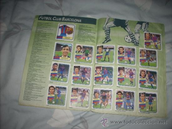 Coleccionismo deportivo: ALBUM DE LA LIGA 1989-90 DE ESTE CON CROMOS BUENOS - Foto 3 - 36618228
