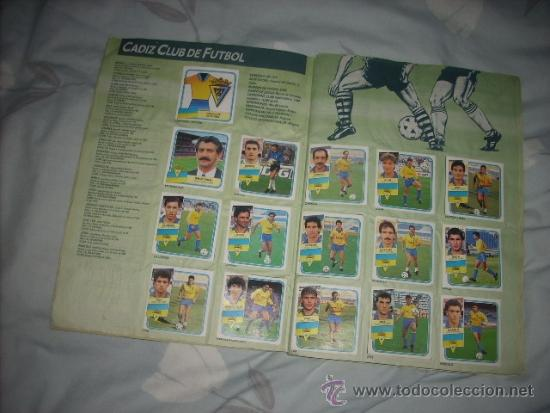 Coleccionismo deportivo: ALBUM DE LA LIGA 1989-90 DE ESTE CON CROMOS BUENOS - Foto 4 - 36618228