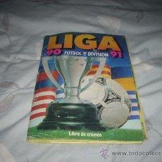 Coleccionismo deportivo: ALBUM DE LA LIGA 1990-91 DE ESTE. Lote 36620685