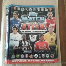Coleccionismo deportivo: TOOPS MATCH ATTAX 11 12. Lote 36631544