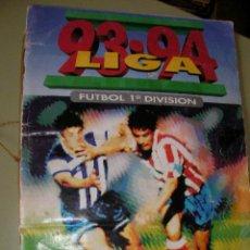 Coleccionismo deportivo: LIBRO DE CROMOS LIGA 93-94 - FUTBOL 1ª DIVISION. Lote 36735775