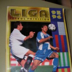 Coleccionismo deportivo: LIBRO DE CROMOS LIGA 95-96 - FUTBOL 1ª DIVISION. Lote 36735789