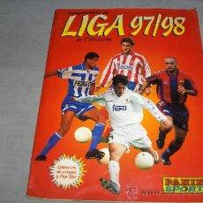 Coleccionismo deportivo: LIGA 97 98 1997 1998 INCOMPLETO FALTAN 80 CROMOS Y TODOS LOS FICHAJES. PANINI. REGALO 1999 2000.. Lote 36709245