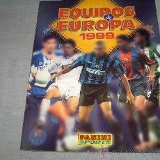 Coleccionismo deportivo: EQUIPOS DE EUROPA 1999 INCOMPLETO FALTAN 58 DE 378 CROMOS. PANINI. REGALO FÚTBOL 88 INCOMPLETO.. Lote 36710275