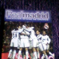 Coleccionismo deportivo: ALBUM REAL MADRID 00 01 PLANCHA PANINI VACIO LIGA 2000 2001. Lote 36736070